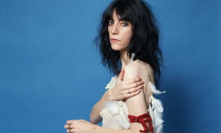 Singer and Poet Patti Smith