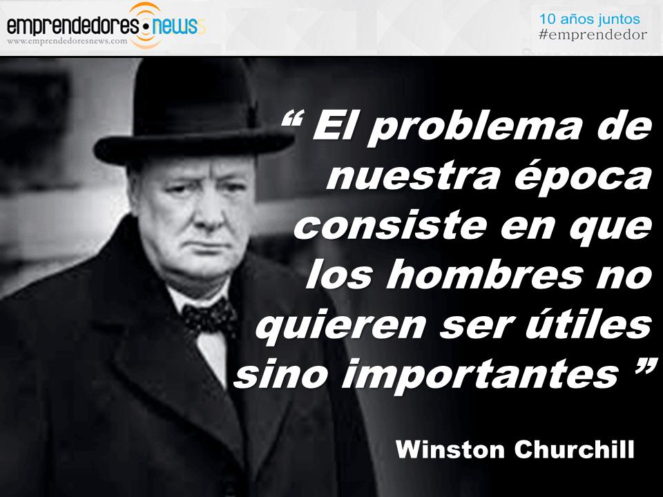 El Gurú Diario Winston Churchill El Problema De La época