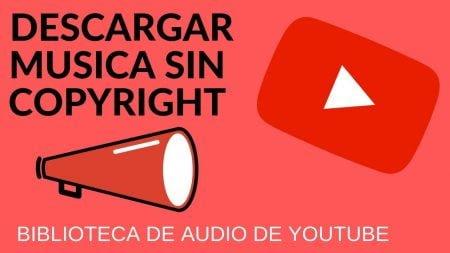Bliblioteca de audio de YouTube