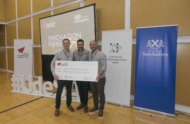 Se conocieron los ganadores del UdeSA Startup Competition