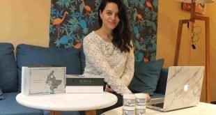 Irina Svestskin, fundadora de Indie Beauty
