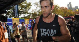 Ryan Reynolds, otra de las celebridades que corrió 42 kilómetros