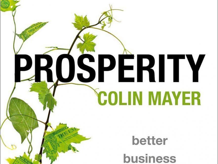 Prosperity, el libro de Colin Mayer recomendado por Satya Nadella