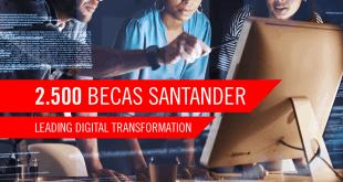 Lanzaron las Becas Santander for MIT Leading Digital Transformation