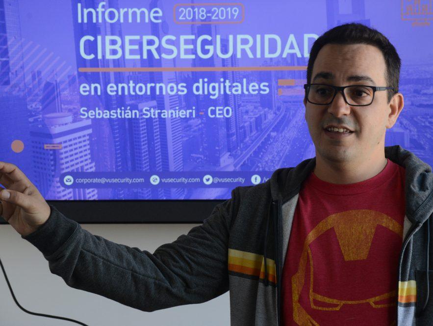 Sebastián Stranieri habla sobre la internet segura