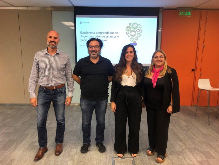 microsoft y arcap presentaron datos del ecosistema emprendedor argentino