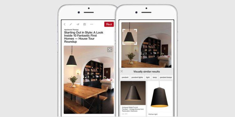Las oportunidades para las marcas que presentan las búsquedas visuales de Pinterest