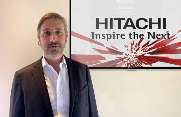 Carlos González, partner manager de Hitachi Vantara