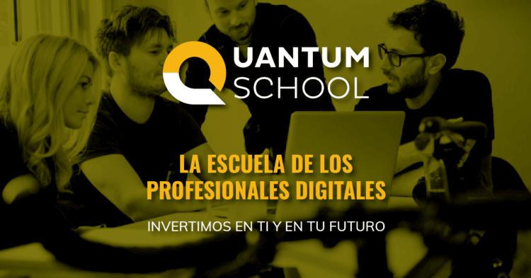 Nace Quantum School, la escuela gratuita de profesiones digitales