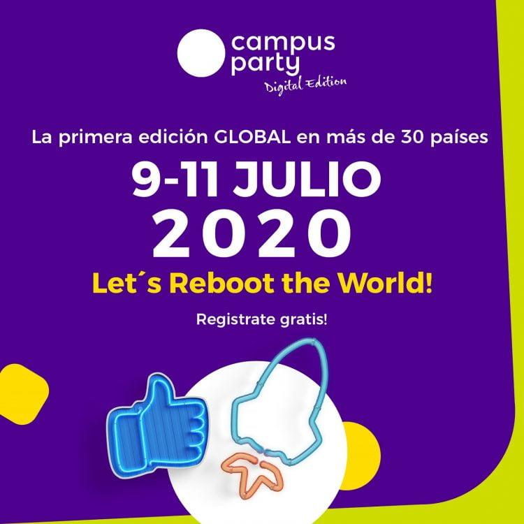 Vuelve el Campus Party, esta ves gratis, digital y global