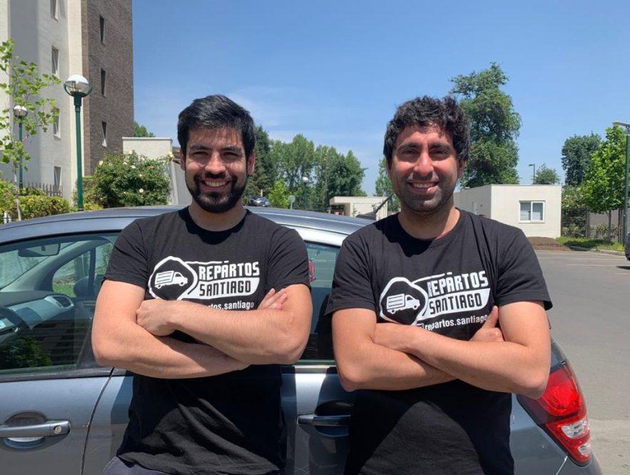 Pablo y Santiago, los emprendedores chilenos que solucionan el delivery de las micro pymes