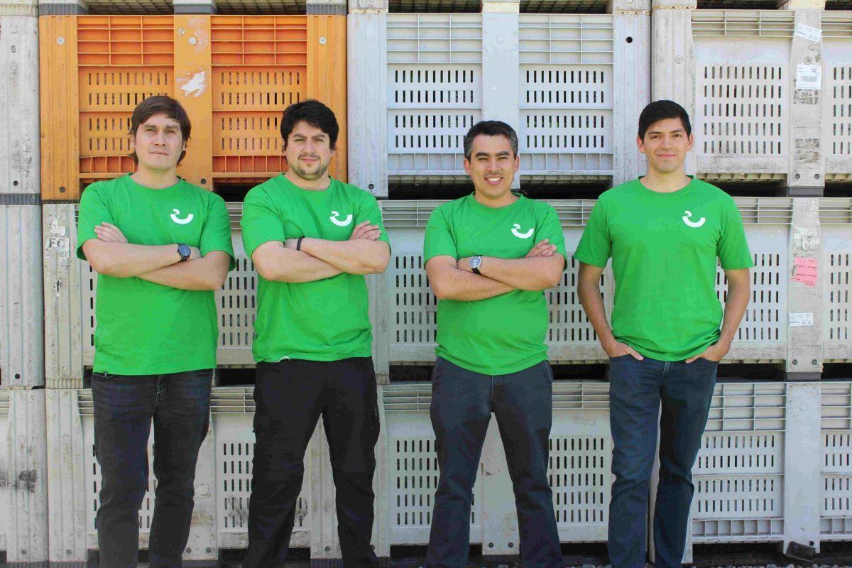 Los founders de Trapi, la startups que revoluciona la comercialización de frutas y verduras