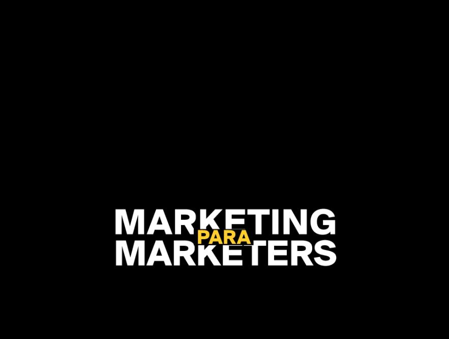 Playbook: marketing para marketers