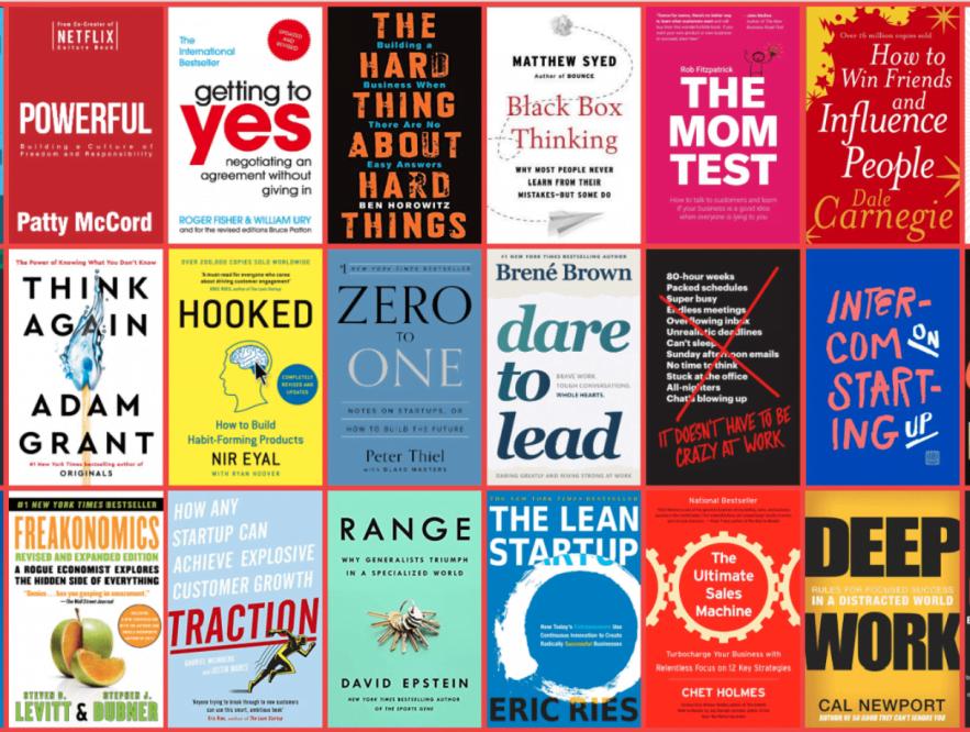 Libros que todo emprendedor debe leer en 2021