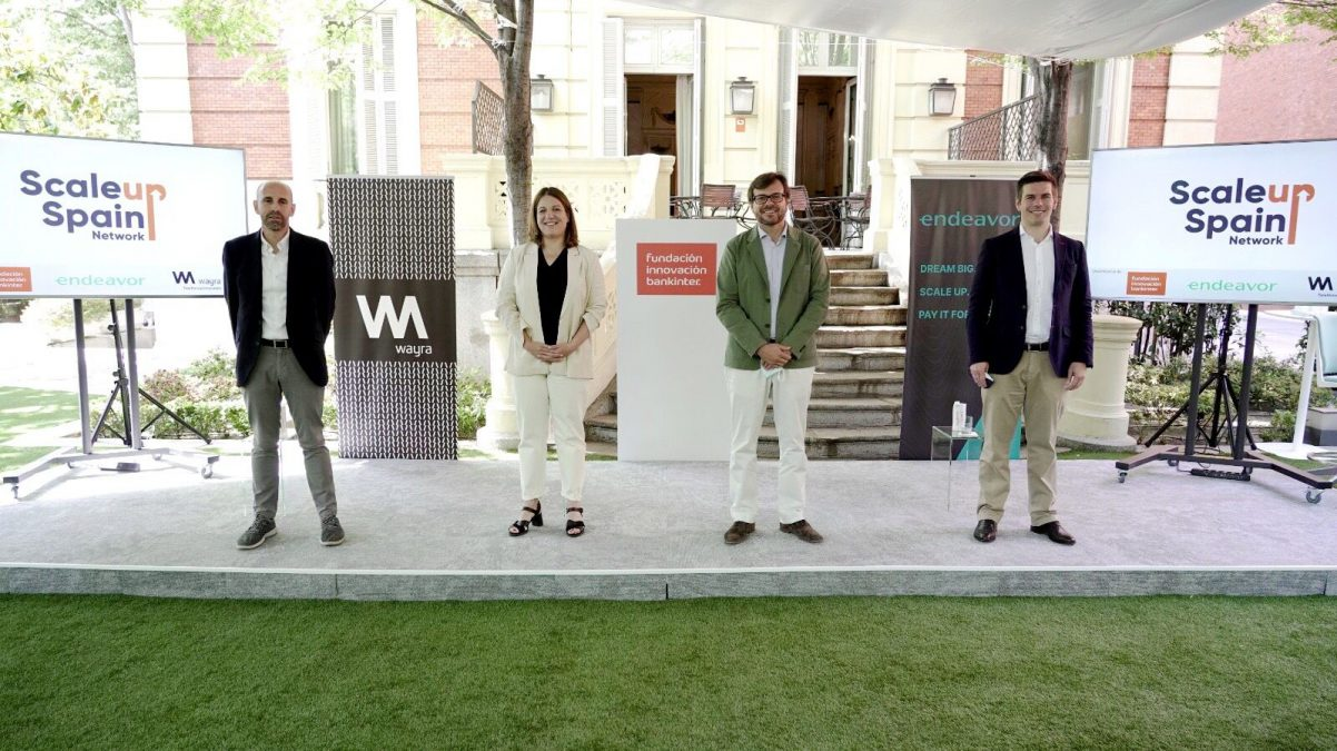 Fundación Innovación Bankinter, Endeavor y Wayra crean Scaleup Spain Network