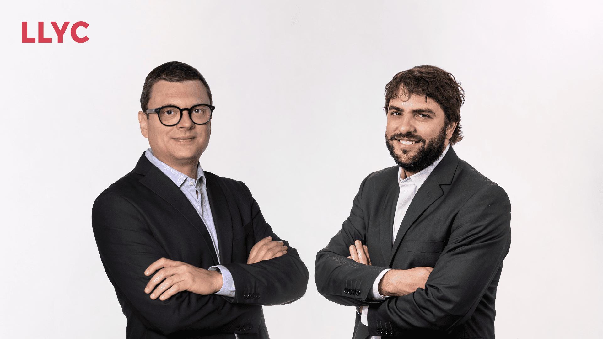 LLYC promociona a Mariano Vila y Juan Carlos Gozzer