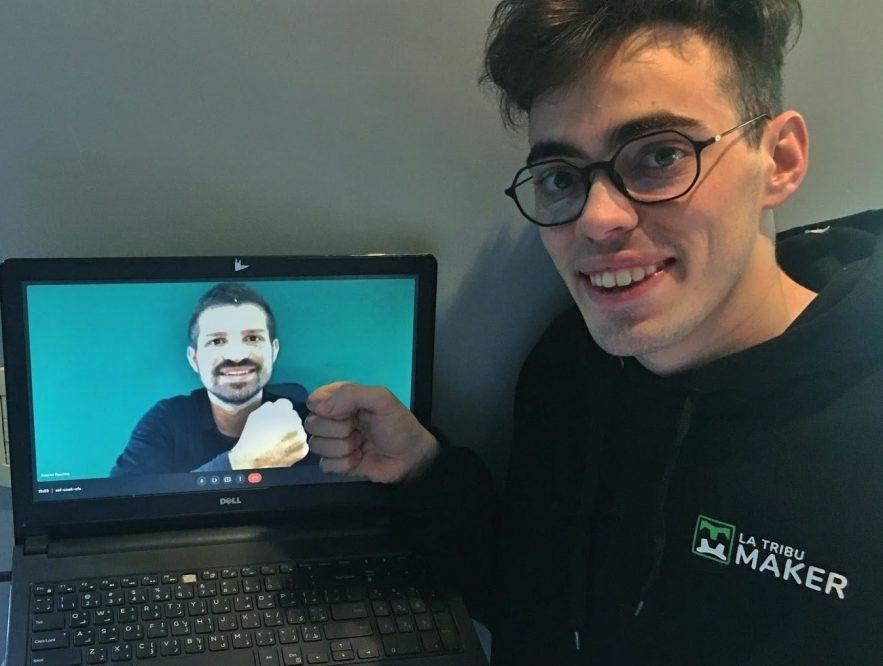 Tiene 21 años y su startup será acelerada por Startup Chile