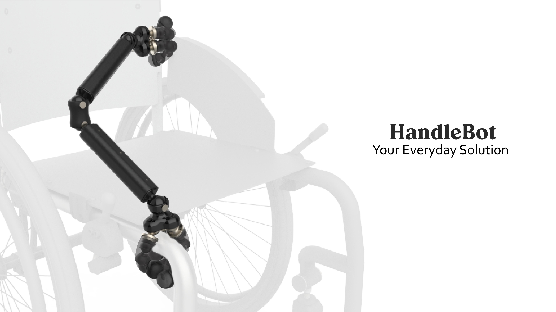 HandleBot. Brazo mecánico para personas con discapacidad