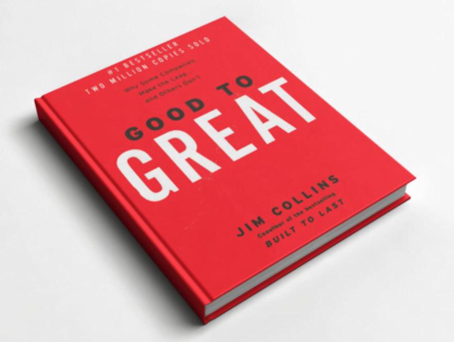"""7 lecciones de """"Good to Great"""" de Jim Collins"""