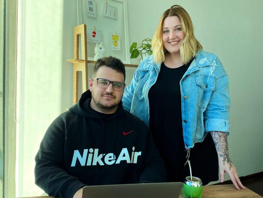 Empretienda, la plataforma creada por Ariana Onega y Luciano Ghione