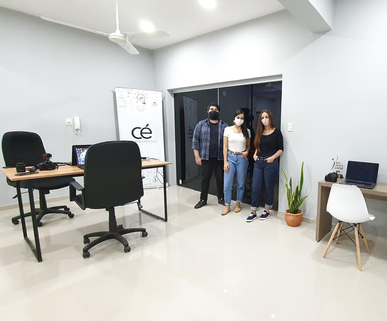 El equipo de Cé Agencia Creativa